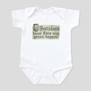 Nostradamus Knew Infant Bodysuit