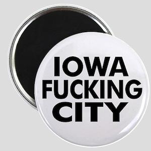 Iowa Fucking City Magnet