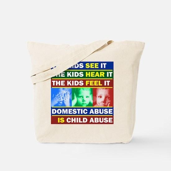 Abuse Tote Bag