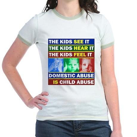 Abuse Jr. Ringer T-Shirt