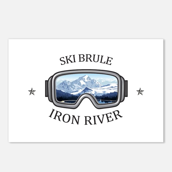 Ski Brule - Iron River Postcards (Package of 8)