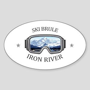 Ski Brule - Iron River - Michigan Sticker