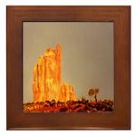 Monument Valley Framed Tile