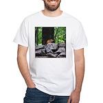 Cute Chipmunk White T-Shirt