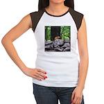 Cute Chipmunk Women's Cap Sleeve T-Shirt