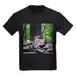 Cute Chipmunk Kids Dark T-Shirt