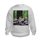Cute Chipmunk Kids Sweatshirt