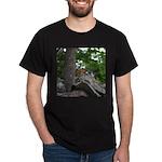 Chipmunk With Nut Dark T-Shirt