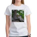 Chipmunk With Nut Women's T-Shirt