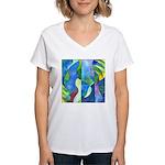 Jungle River Women's V-Neck T-Shirt