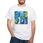 Jungle River White T-Shirt