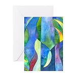Jungle River Greeting Card
