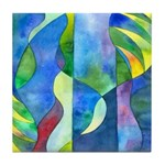Jungle River Tile Coaster