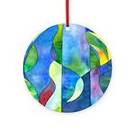Jungle River Ornament (Round)