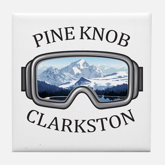 Pine Knob Ski Resort - Clarkston - Tile Coaster