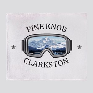 Pine Knob Ski Resort - Clarkston - Throw Blanket