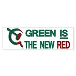 Green is the New Red Bumper Sticker (50 pk)