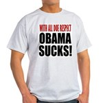 With Due Respect Light T-Shirt