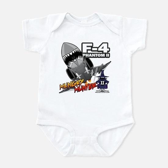 Hungry Hunter Infant Bodysuit