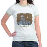 Seattle Jr. Ringer T-Shirt