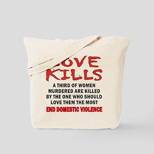 Love Kills Tote Bag