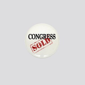 congress is sold Mini Button
