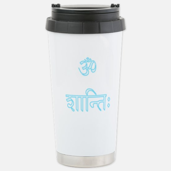 aum shanti Stainless Steel Travel Mug