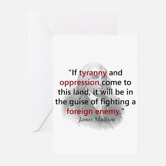 James Madison Greeting Cards (Pk of 10)