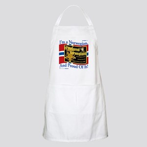 Honored Norwegians! BBQ Apron