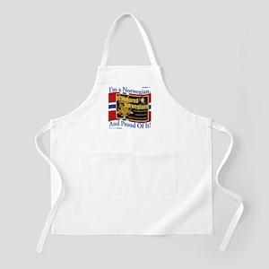 Honored Norwegians! BBQ Apron