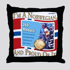 Medals Of Honor! Throw Pillow