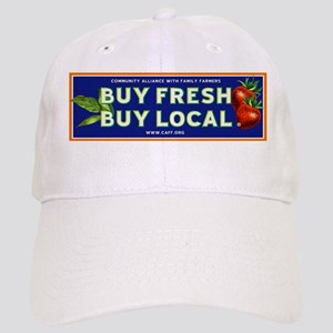 bbc049604df Eat Local Farm Fresh Hats - CafePress