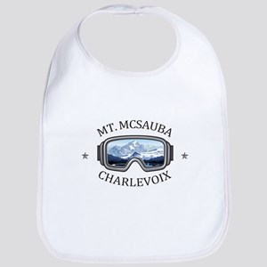 Mt. McSauba Recreation Area - Charlevoi Baby Bib