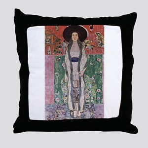 Adele Bloch-Bauer II Throw Pillow