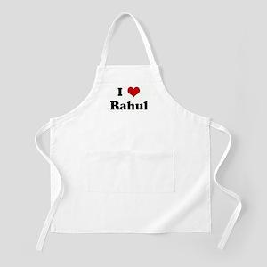 I Love Rahul BBQ Apron