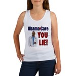 ObamaCare: YOU LIE Women's Tank Top
