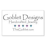 Goblet Designs Rectangle Sticker