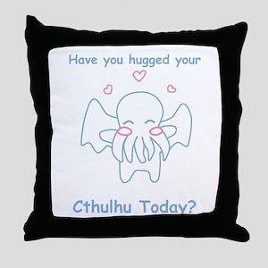 Cthulhu Hug Throw Pillow