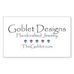 Goblet Designs Rectangle Sticker 10 pk)