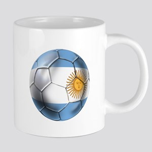 Argentina Football 20 oz Ceramic Mega Mug
