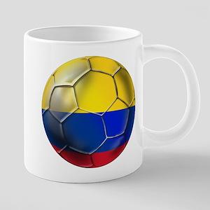 Colombia Soccer Ball 20 oz Ceramic Mega Mug