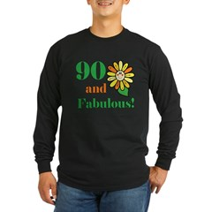 Fabulous 90th Birthday T