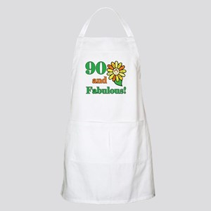 Fabulous 90th Birthday BBQ Apron