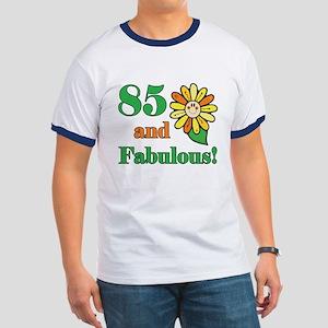 Fabulous 85th Birthday Ringer T
