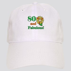 Fabulous 80th Birthday Cap