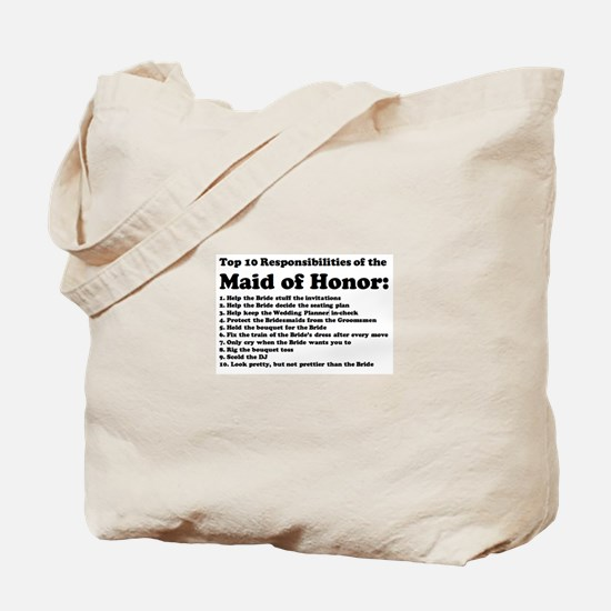 Unique Maid honor Tote Bag