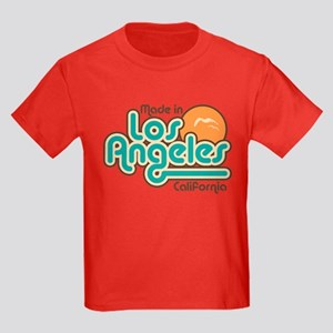 Made In Los Angeles Kids Dark T-Shirt