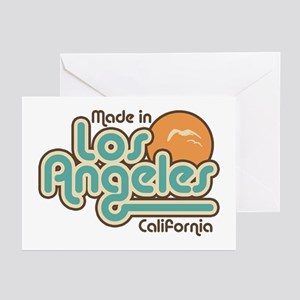 Made In Los Angeles Greeting Cards (Pk of 10)