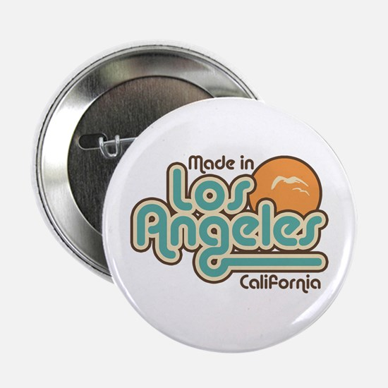 """Made In Los Angeles 2.25"""" Button"""