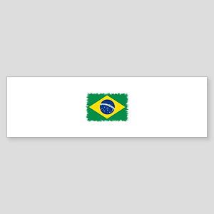Static Flag Bumper Sticker